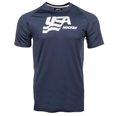 (USA Hockey Short Sleeve Performance Tee - Youth)