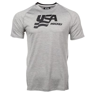(USA Hockey Short Sleeve Performance Tee - Adult)