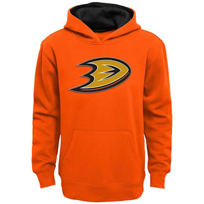 (Adidas Anaheim Ducks Prime Pullover Hoodie - Youth)