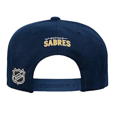 (Adidas Buffalo Sabres Solid Flatbrim Snapback Hat - Youth)