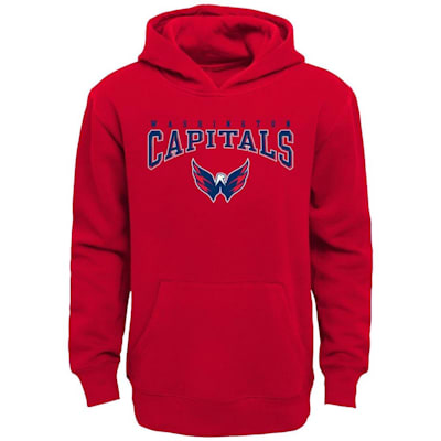 (Adidas Washington Capitals Fadeout Hoodie - Youth)