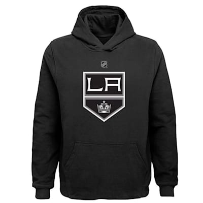 (Adidas LA Kings Primary Logo Hoodie - Youth)