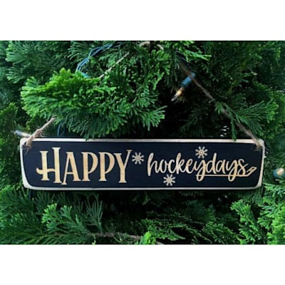(Painted Pastimes Happy Hockeydays Ornament)