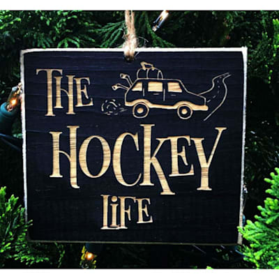 (Painted Pastimes The Hockey Life Ornament)