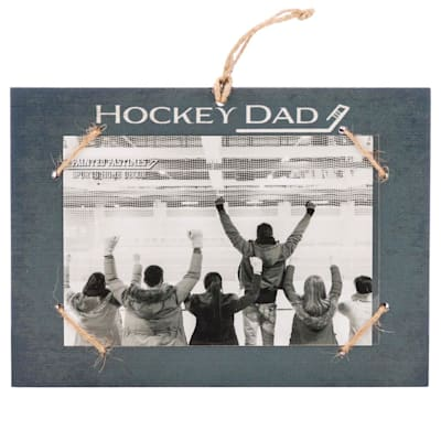 """(Painted Pastimes """"Hockey Dad"""" Photo Frame)"""