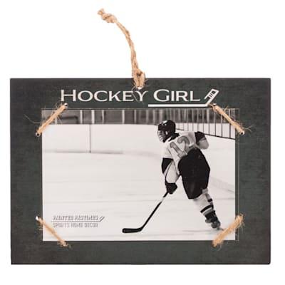 "(Painted Pastimes ""Hockey Girl"" Photo Frame)"