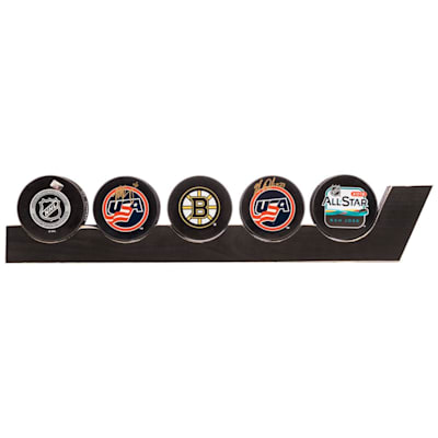 (Painted Pastimes Hockey Stick Puck Display)
