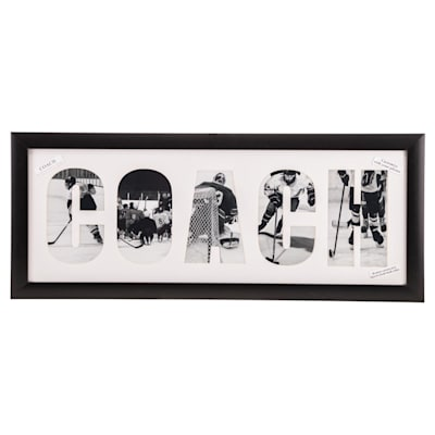 "(Painted Pastimes ""COACH"" Personalized Matted Frame)"