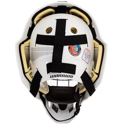 (Warrior Ritual F1 Certified Goalie Mask - Senior)