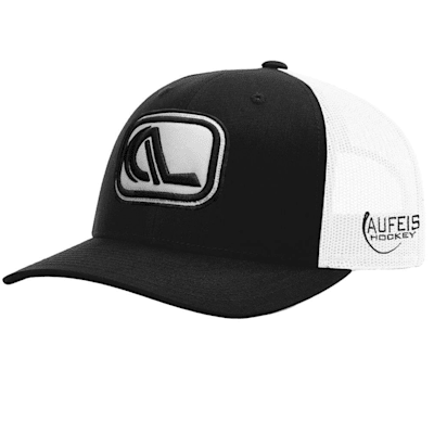 (Aufeis 3D Logo Patch Curved Bill Snapback Hat - Adult)