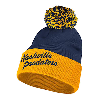 (Adidas 2020 Winter Classic Nashville Predators Cuffed Knit Winter Hat)