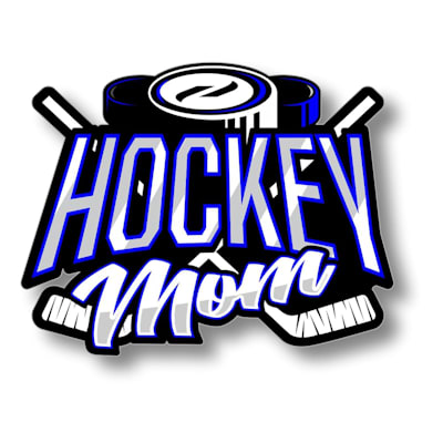 (Hockey Mom Sticker)