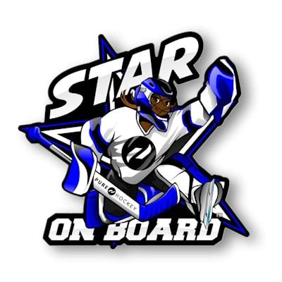 (Star on Board Girl - Goalie)