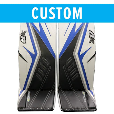 (Brians Custom Optik 2 Goalie Leg Pads - Senior)