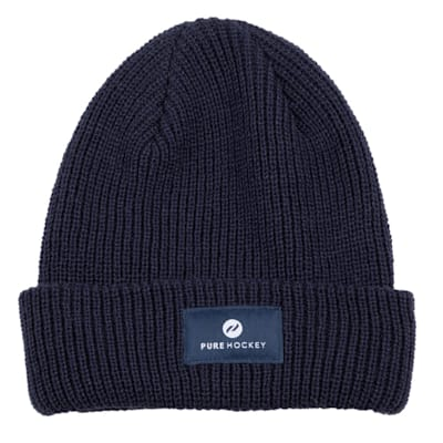 (Pure Hockey Ribbed Winter Hat)