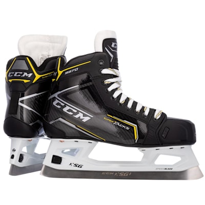 (CCM Super Tacks 9370 Ice Hockey Goalie Skates - Junior)
