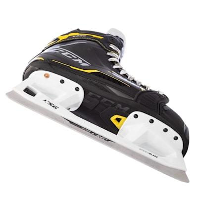 (CCM Super Tacks 9380 Ice Hockey Goalie Skates - Junior)