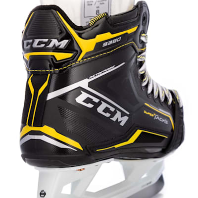 (CCM Super Tacks 9380 Ice Hockey Goalie Skates - Intermediate)