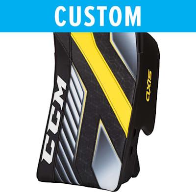 (CCM Custom Axis Pro Goalie Blocker - Senior)
