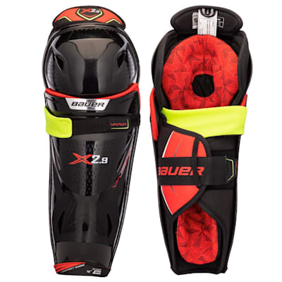 (Bauer Vapor X2.9 Hockey Shin Guards - Senior)