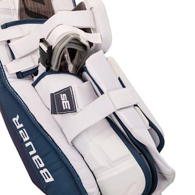 (Bauer Supreme 3S Goalie Leg Pads - Intermediate)