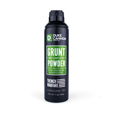 (Duke Cannon Grunt Foot & Boot Spray Powder)