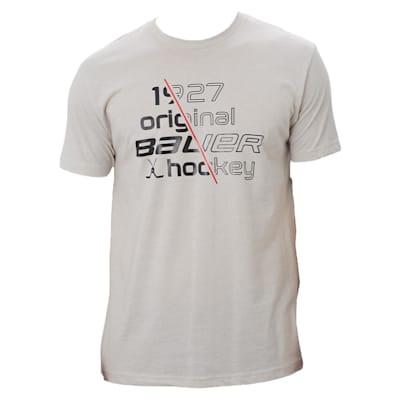 (Bauer Slash 1927 Short Sleeve Crew Tee Shirt - Adult)