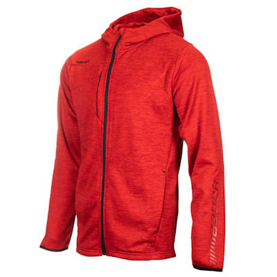 (Bauer Vapor Fleece Full Zip Hoody - Adult)