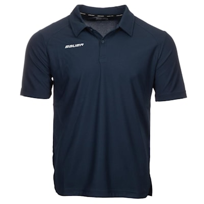 (Bauer Vapor Team Pique Polo Shirt - Adult)