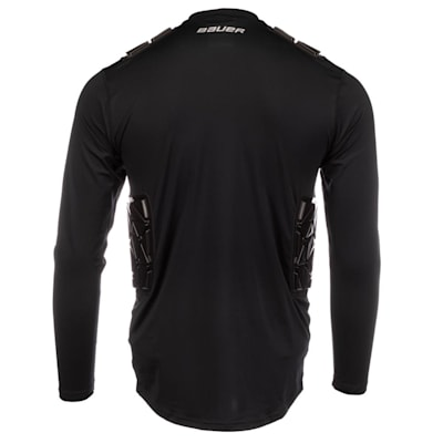(Bauer S20 Elite Padded Goalie Base Layer Shirt - Youth)