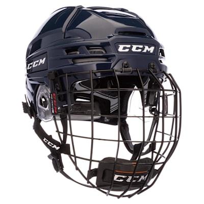 (CCM Tacks 910 Hockey Helmet Combo)