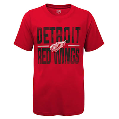 (Adidas Hustle Ultra Tee - Detroit Red Wings - Youth)