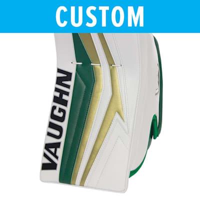 (Vaughn Custom Velocity V9 Pro Carbon Goalie Blocker - Senior)