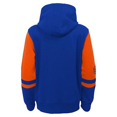 (Adidas Faceoff FZ Fleece Hoodie - New York Islanders - Youth)