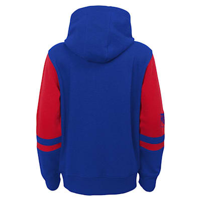 (Adidas Faceoff FZ Fleece Hoodie - New York Rangers - Youth)
