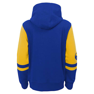 (Adidas Faceoff FZ Fleece Hoodie - Buffalo Sabres - Youth)