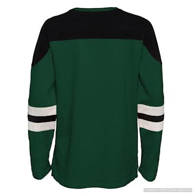 (Adidas Goaltender LS Top - Minnesota Wild - Youth)