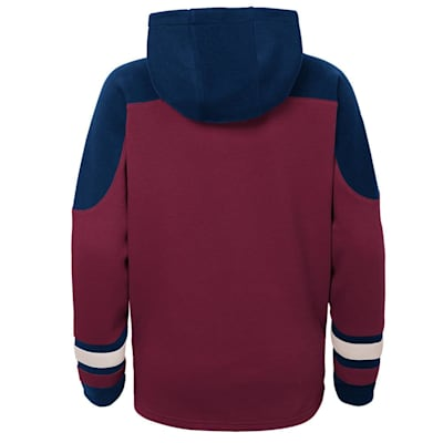 (Adidas Ageless Must Have Pullover Hoody - Colorado Avalanche - Youth)
