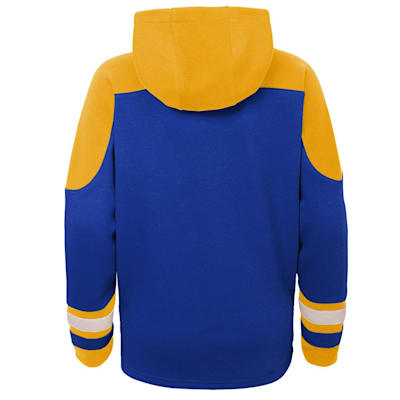 (Adidas Ageless Must Have Pullover Hoody - St. Louis Blues - Youth)