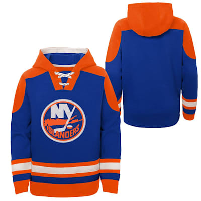 (Adidas Ageless Must Have Pullover Hoody - New York Islanders - Youth)