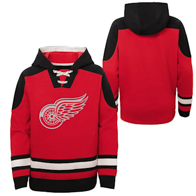 (Adidas Ageless Must Have Pullover Hoody - Detroit Red Wings - Youth)