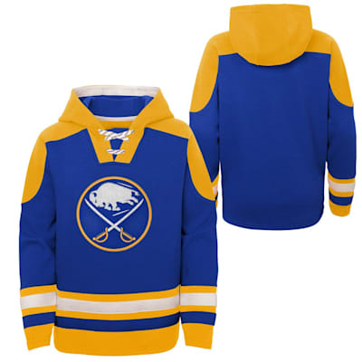 (Adidas Ageless Must Have Pullover Hoody - Buffalo Sabres - Youth)