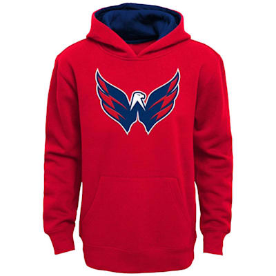 (Adidas Prime Pullover Hoody -  Washington Capitals - Youth)