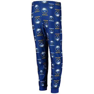 (Adidas Printed Pajama Pants - Buffalo Sabres - Youth)