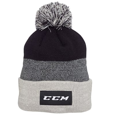 (CCM Team Cuffed Pom Knit 2.0 Hat - Youth)