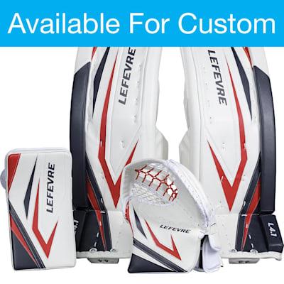 (Lefevre Custom L4.1 Goalie Leg Pads - Senior)