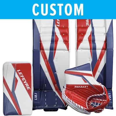 (Lefevre Custom L12.1 Goalie Leg Pads - Senior)