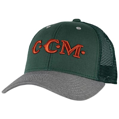 (CCM Vintage Mesh Back Trucker Cap)
