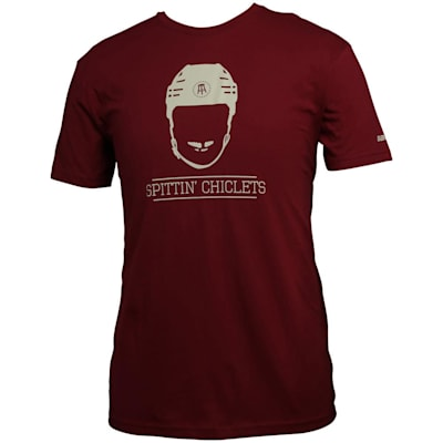 (Bauer Spittin' Chiclets NHL City Tee Shirt - Phoenix Red/Ivory - Adult)
