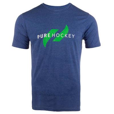(Pure Hockey Classic Tee 2.0 - Royal - Adult)